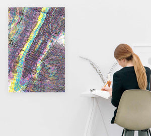 CMYK New York City Artwork large poster