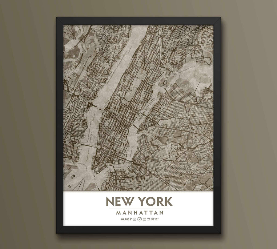 Putty NYC Framed artwork on beige wall