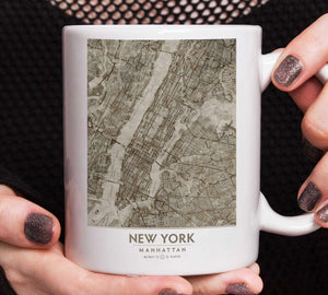 Putty NYC Framed artwork printed on a mug