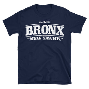 Navy Blue New York City Bronx design