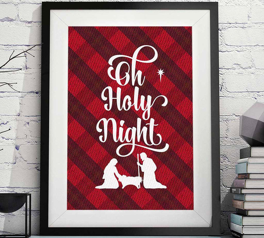 Oh Holy night Christmas printable