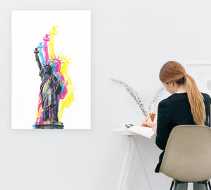 CMYK Artwork in office