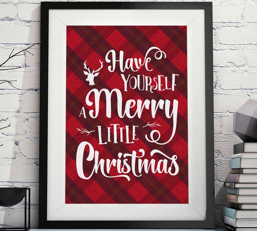 Have Yourself A Merry Little Christmas Printable Image