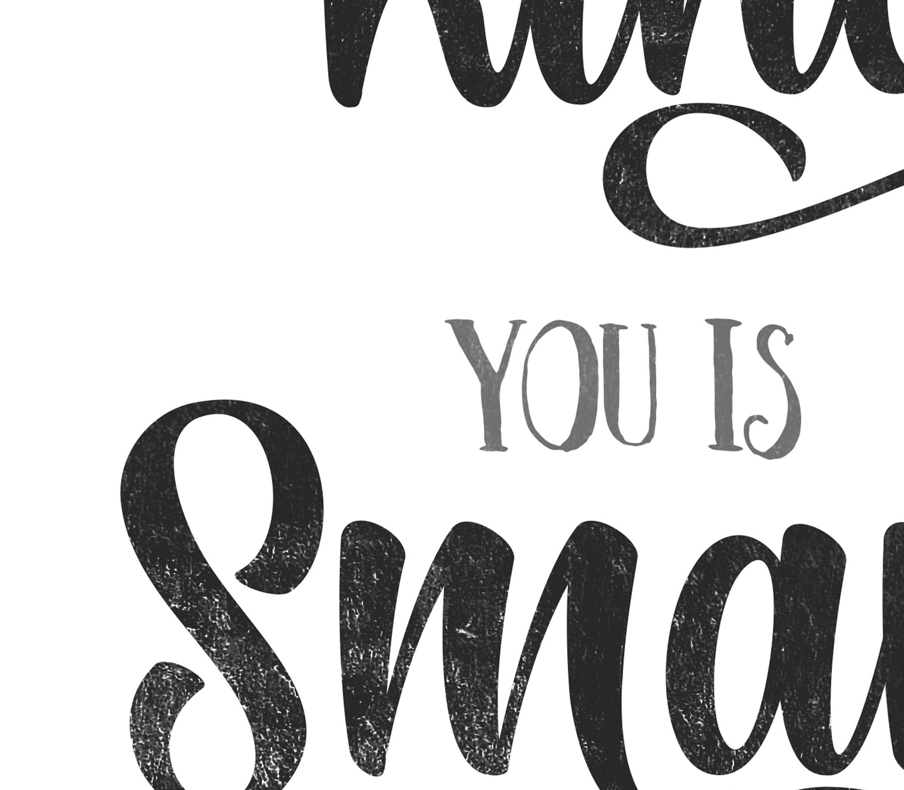 You is Kind, Strong, Important (Printable Quote)