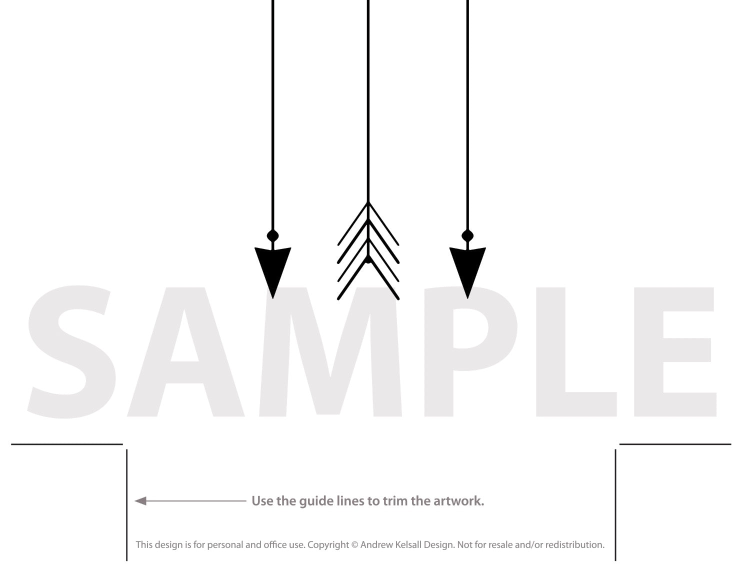 photo about Printable Arrow identified as Printable Arrow Artwork - Arrows Poster Style