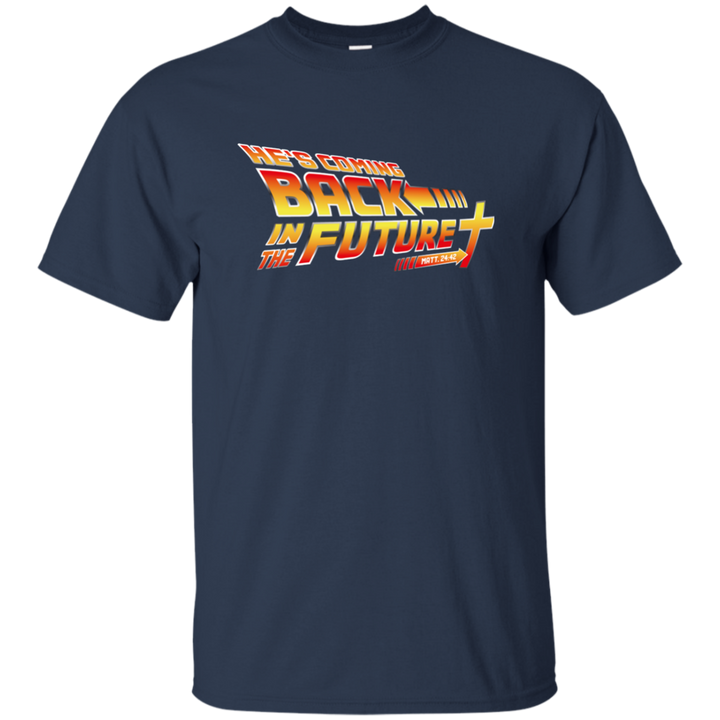 Christian themed back in the future tshirt