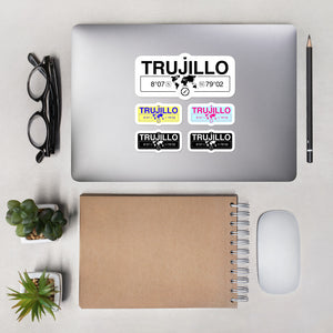 Trujillo Stickers, High-Quality Vinyl Laptop Stickers, Set of 5 Pack