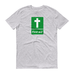 First Aid Cross Christian Faith T-Shirts