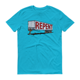 Repent Cross Trailer - Christian Shirts
