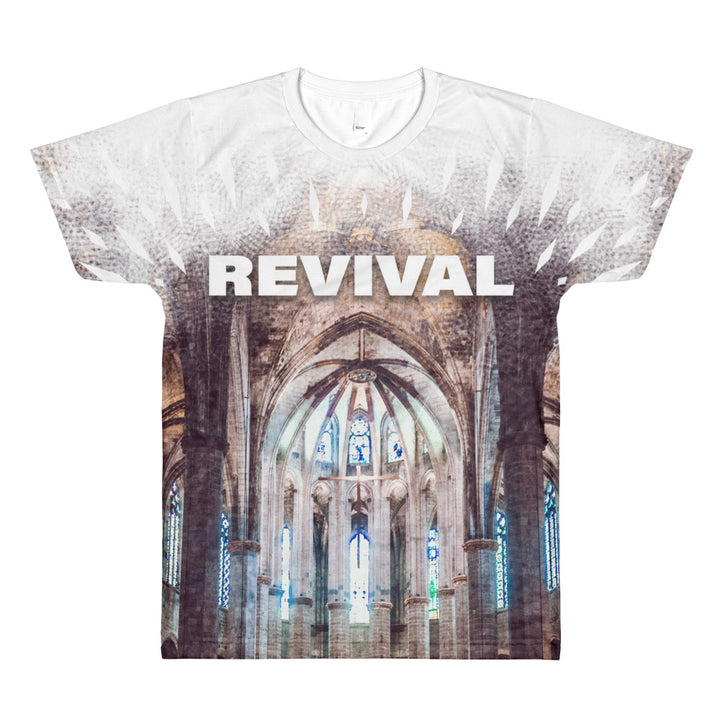Revival All-Over Printed T-Shirt - front side