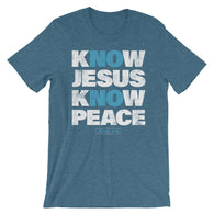 Know Jesus Know Peace T-Shirt image