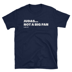 Judas tee in navy blue