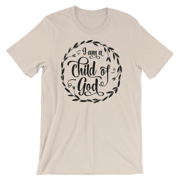 I Am a Child of God T-Shirt in beige