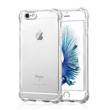 Shockproof Armor Clear Case For iPhone X 8 7 6 6s Plus