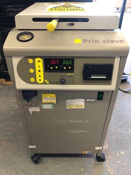 Priorclave MID 60 liters Top Loading Autoclave