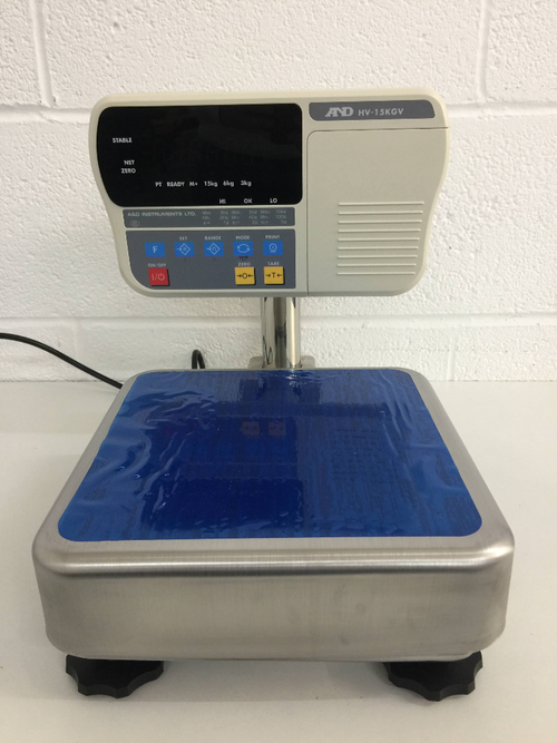 A&D HV-15KGV Digital Platform Scale - Richmond Scientific