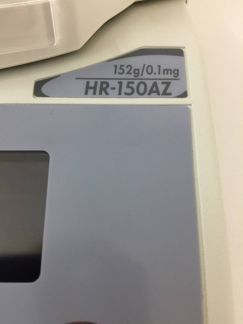 A&D HR-150AZ Analytical Balance - Richmond Scientific