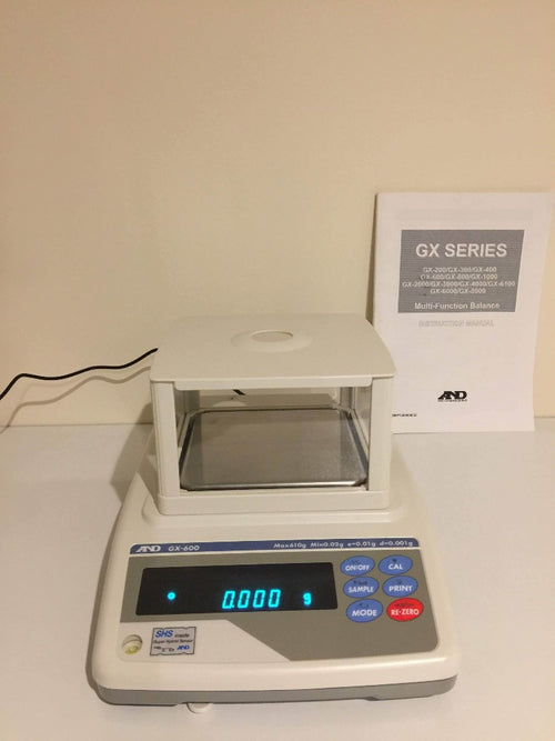 A&D GX-600-EC Top Pan Precision Milligram Balance - Richmond Scientific