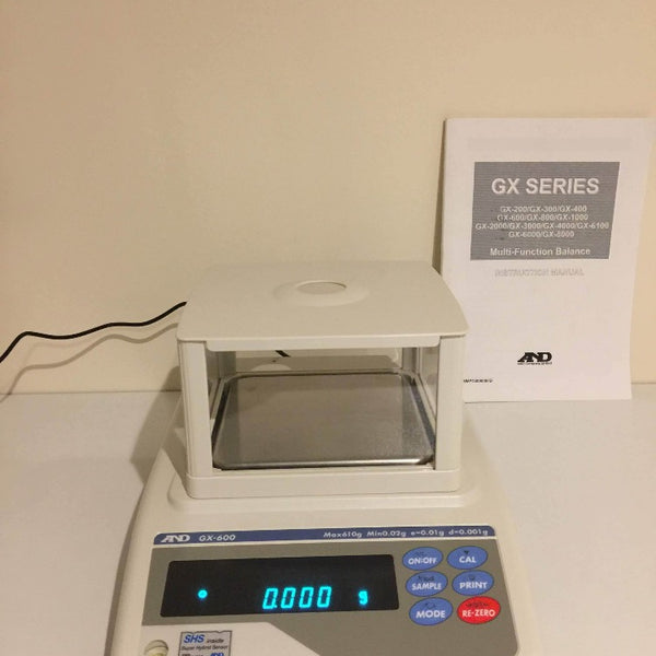 A&D GX-600-EC Top Pan Precision Balance