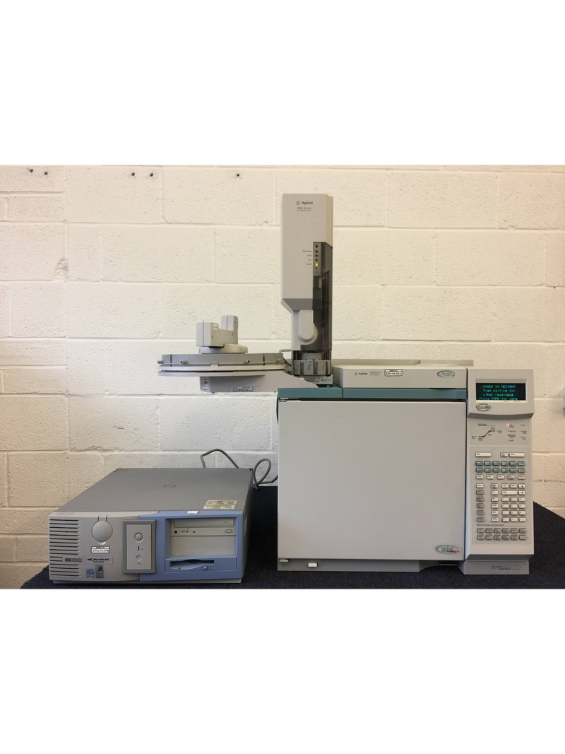 Agilent 6890 Series GC System with Agilent 7683 Series Injector, HP 7683 Series Autosampler and HP Kayak XM600 Computer with Software - Richmond Scientific
