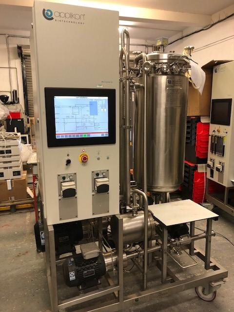 Applikon Biotechnology Mobile SKID 150L