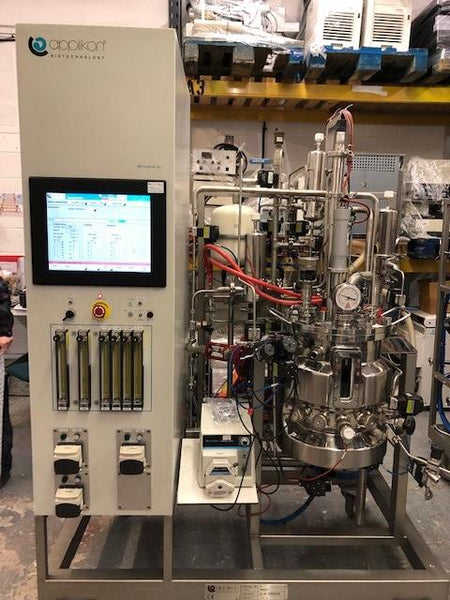 Applikon Biotechnology Pilot System Mammalian Cell Culture Bioreactor 30L