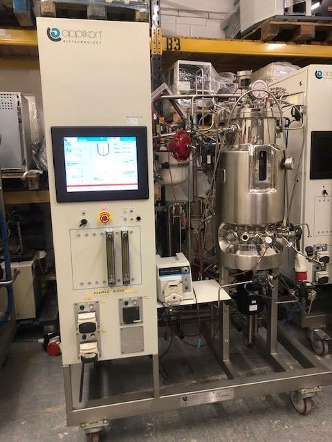 Applikon Biotechnology Pilot System Microbial Fermentor 40L (11039543A) - Richmond Scientific