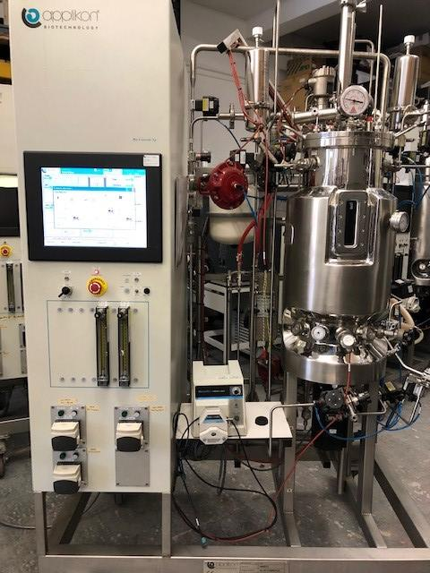 Applikon Biotechnology Pilot System Microbial Fermentor 40L (11039543B) - Richmond Scientific