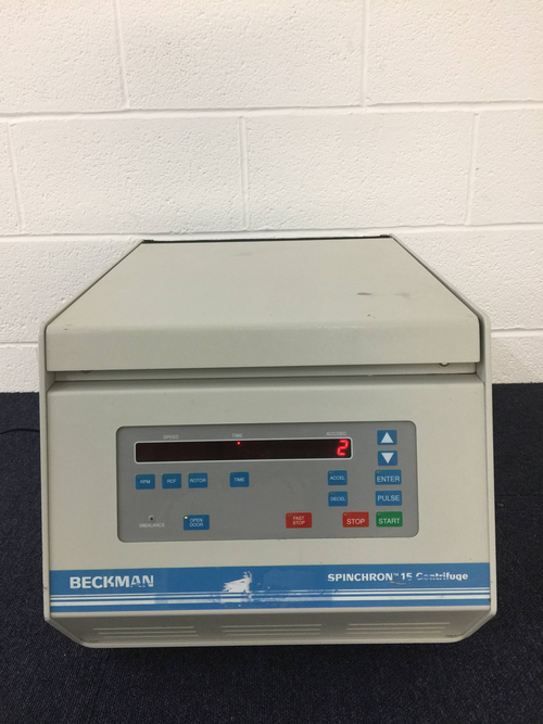 Beckman Spinchron 15 Centrifuge - Richmond Scientific