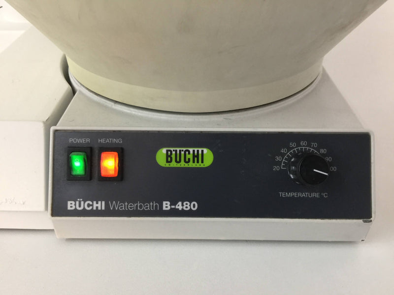 Buchi Rotavapor R-114 Rotary Evaporator and B-480 Bath - Richmond Scientific