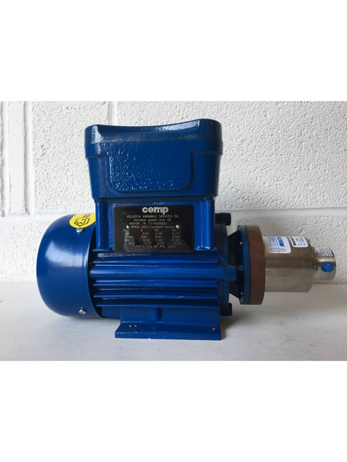 Cemp Motor with Micropump A‑Mount Cavity‑Style Pump Head (1974873) - Richmond Scientific
