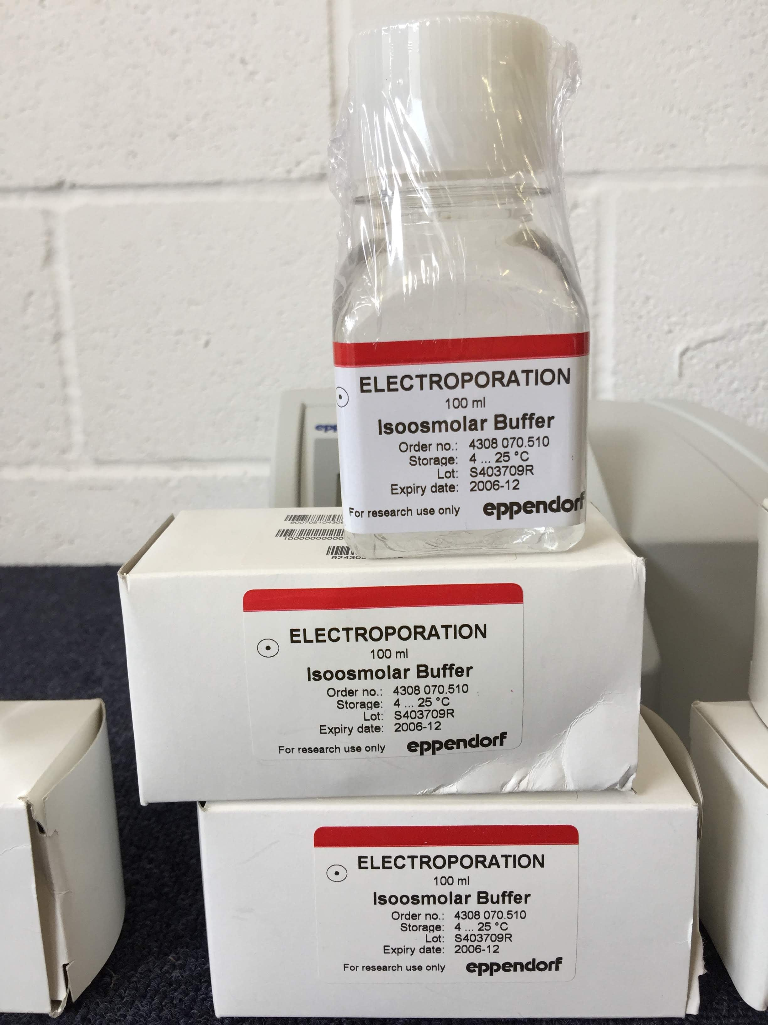 Electroporation 100ml Isoosmolar Buffer Red