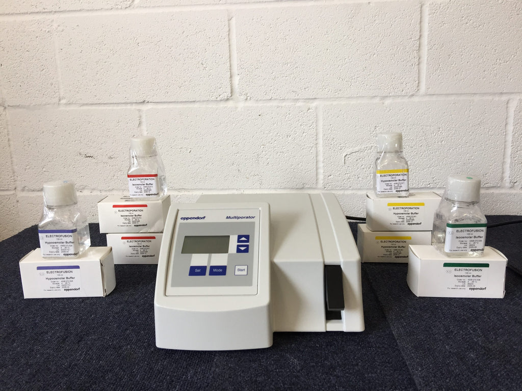 Eppendorf Multiporator with Accessory Liquids