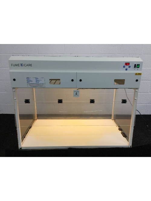 FumeCare F5-120-01 Benchtop Recirculating Fume Cupboard (S1974-2) - Richmond Scientific