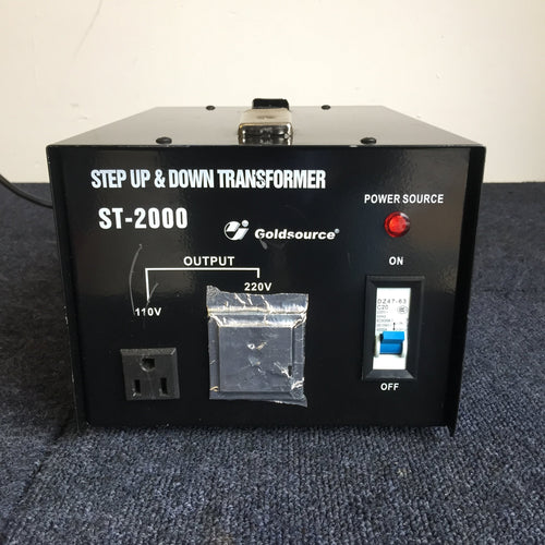 Goldsource ST-2000 Step Up & Down Transformer - Richmond Scientific