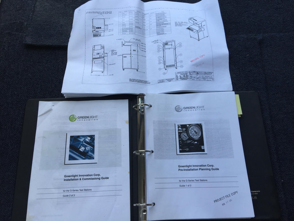 GreenLight Innovations Test Station Documents