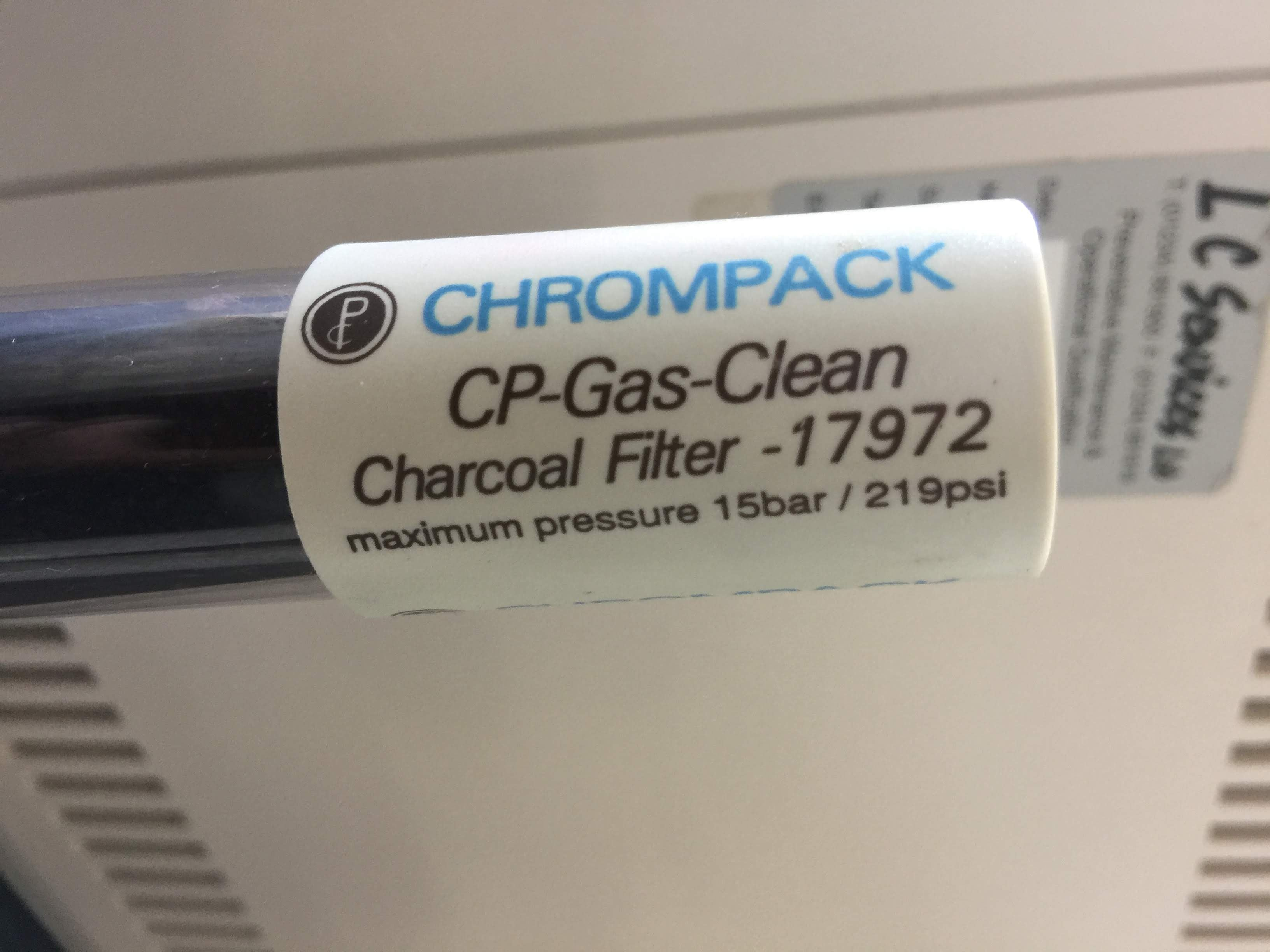 Chrompack CP-Gas-Clean Charcoal Filter