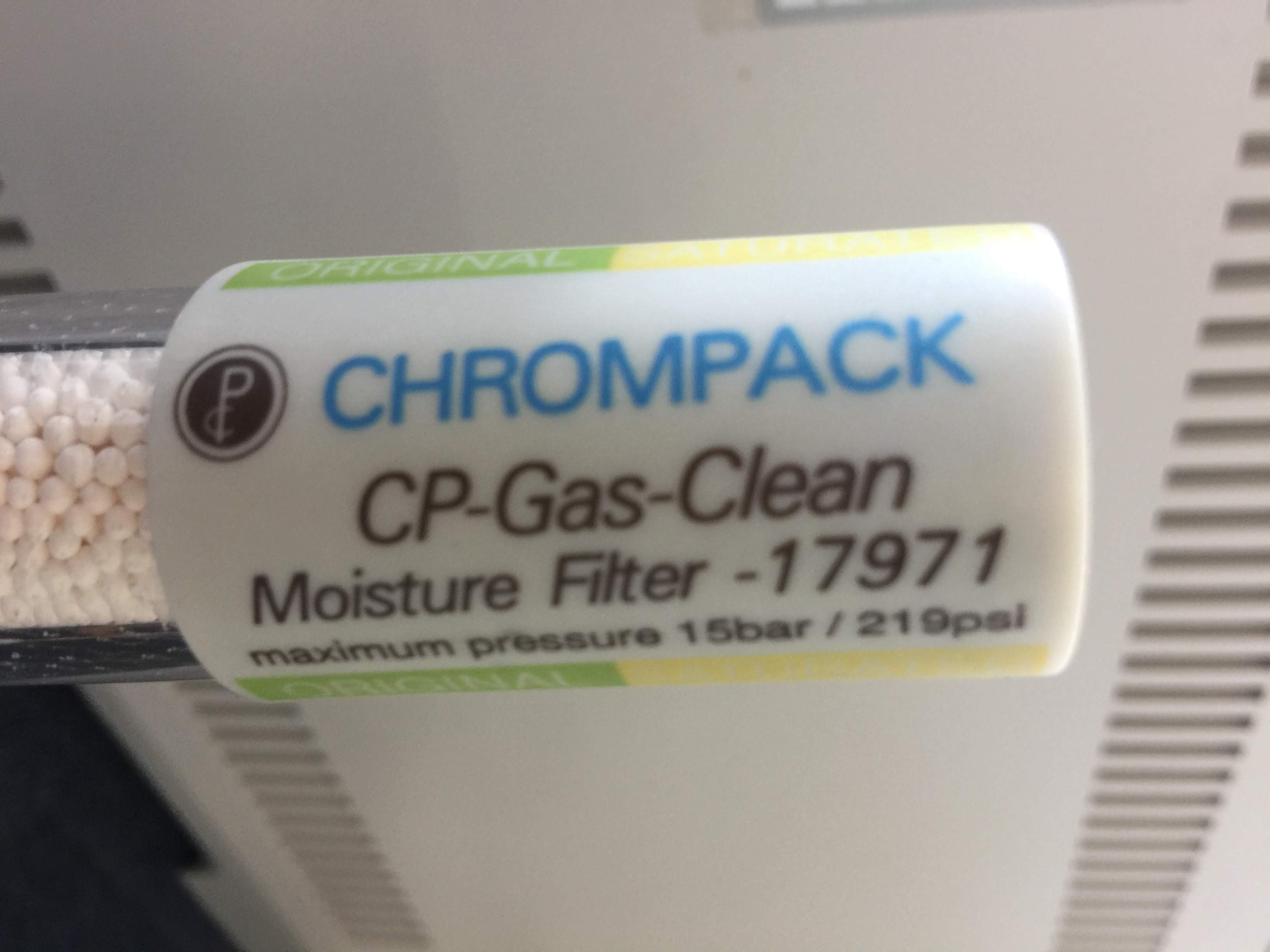 Chrompack CP-Gas-Clean Moisture Filter