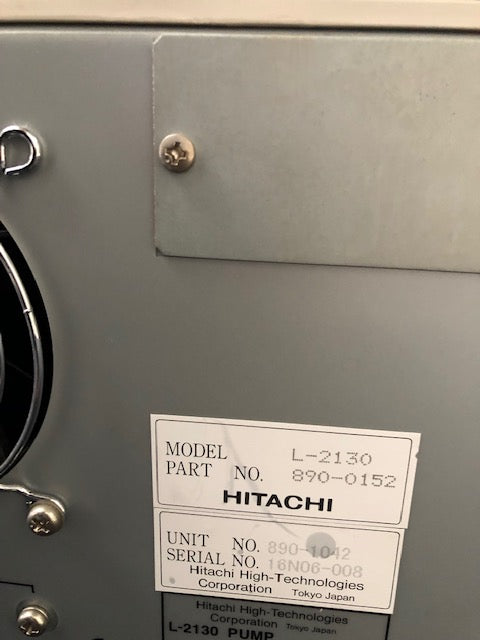 Hitachi Elite LaChrom HPLC System