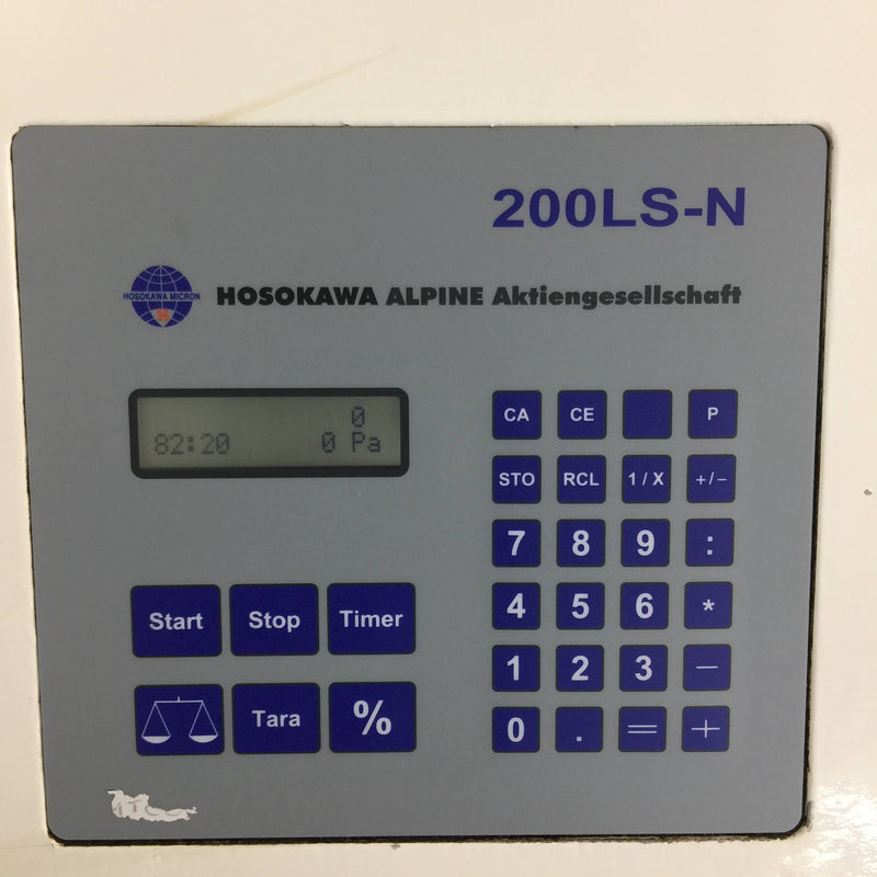Hosokawa Alpine Air Jet Sieve 200 LS-N - Particle Size Analyser - Richmond Scientific
