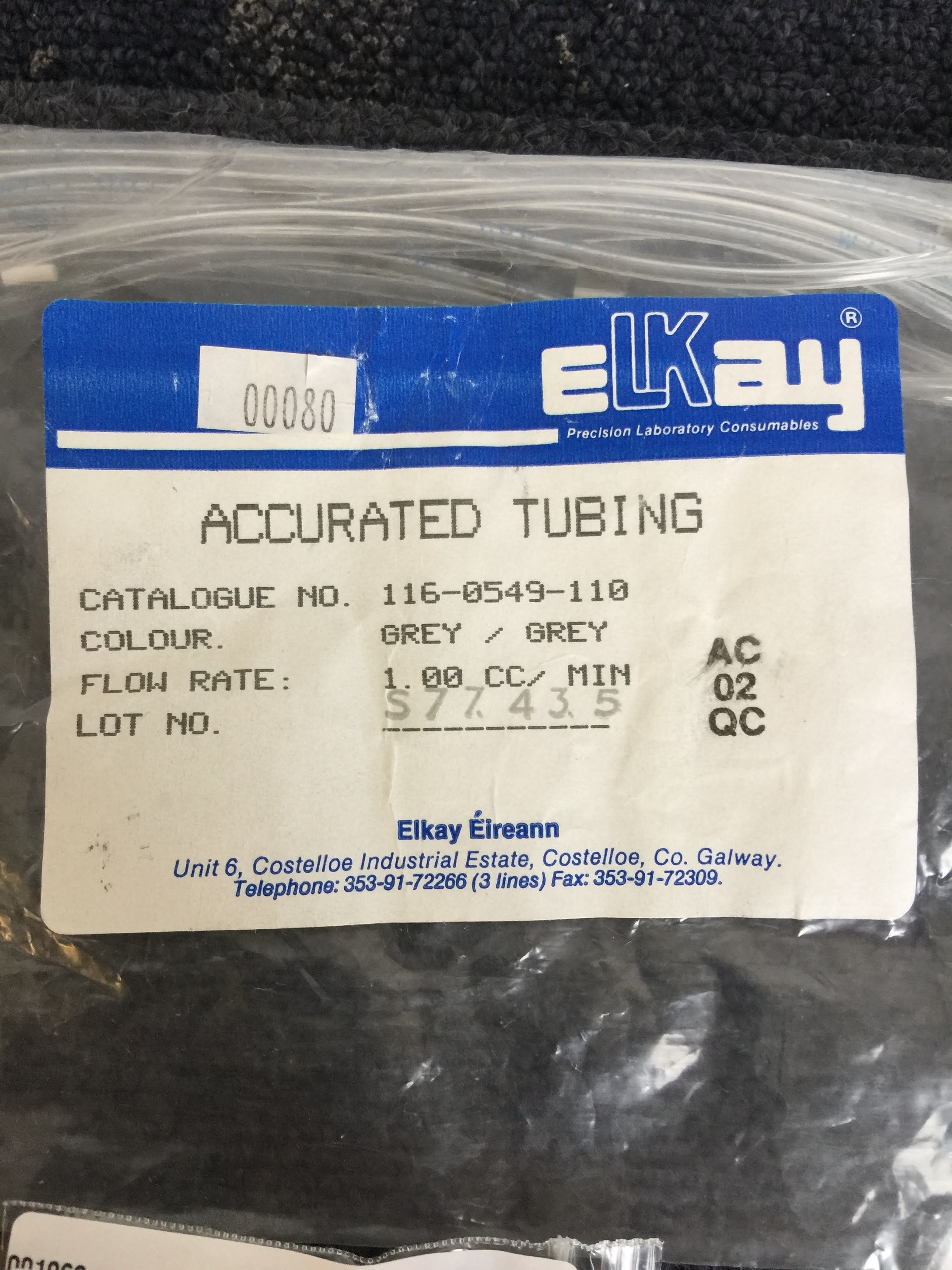 Elkay Accurated Tubing Product Information