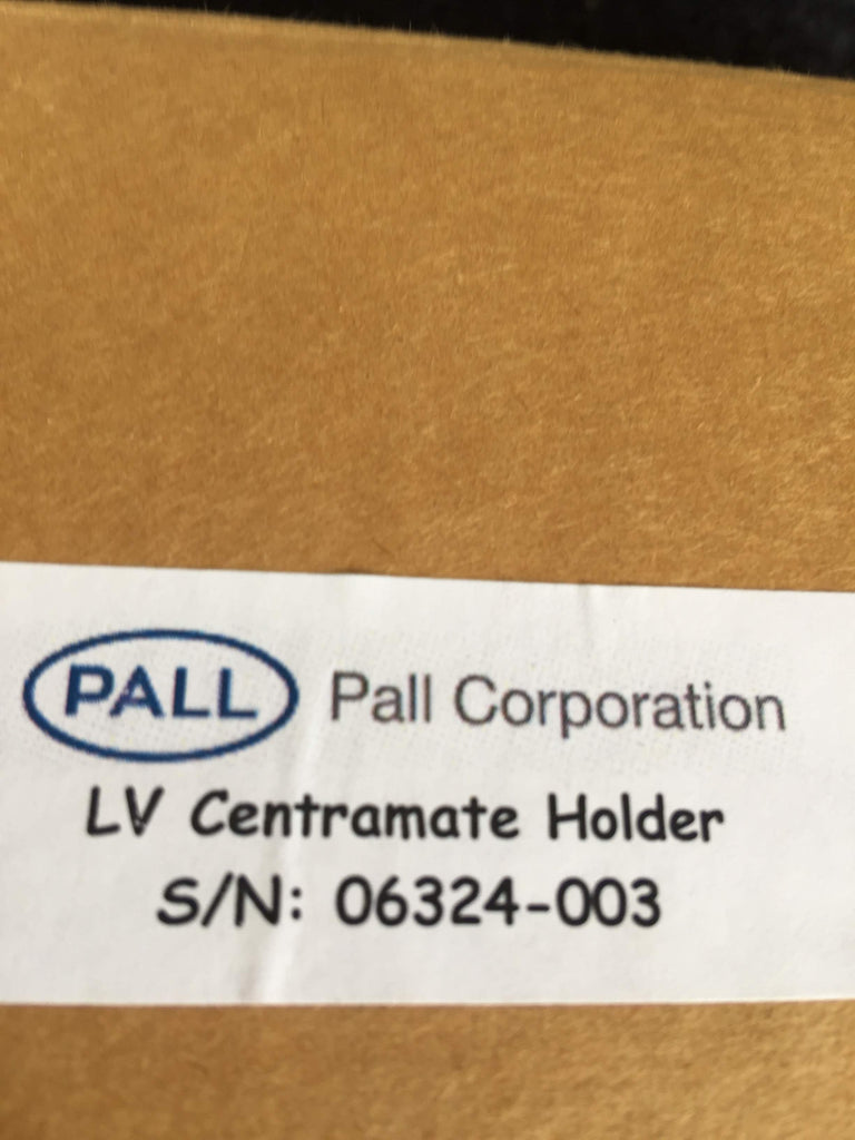 Pall LV Centramate Holder Serial Number