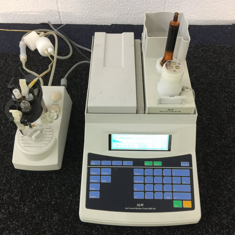KEM MKS-510E - Volumetric Moisture Titrator - Richmond Scientific