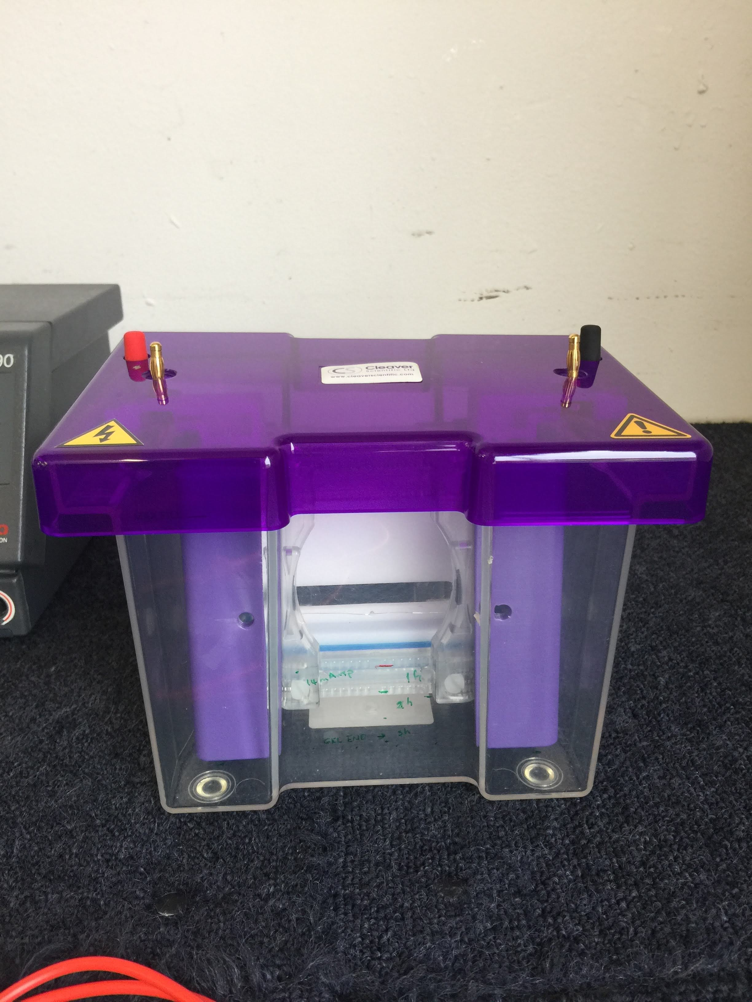 Cleaver Scientific Mini Vertical Protein Electrophoresis System