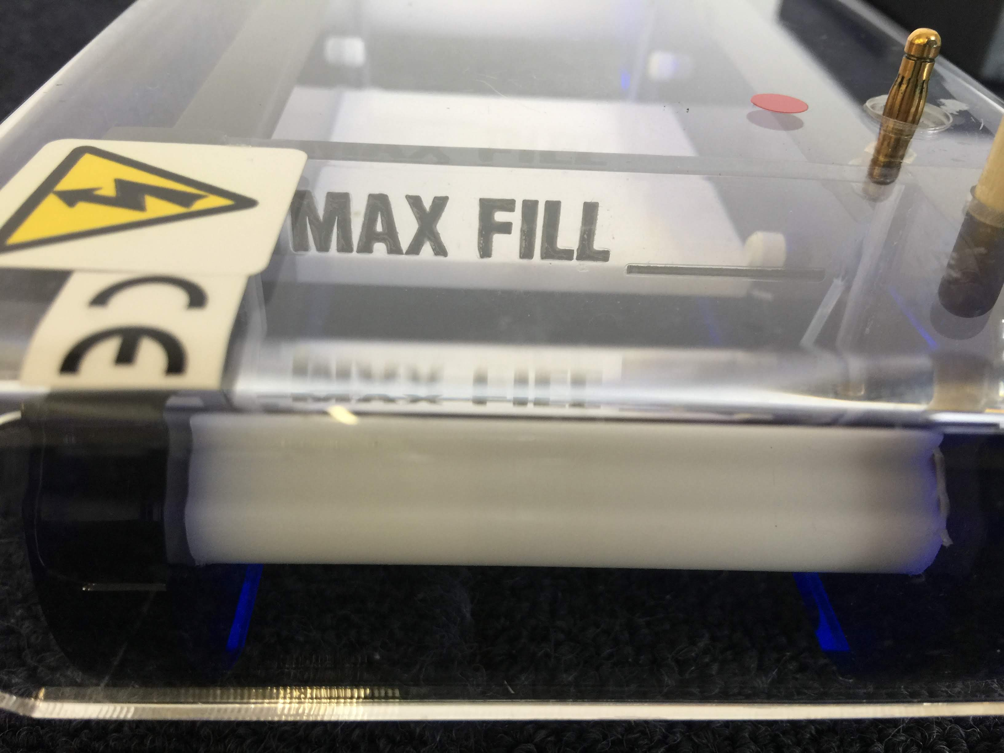 Fisherbrand Gel Unit Max Fill Line