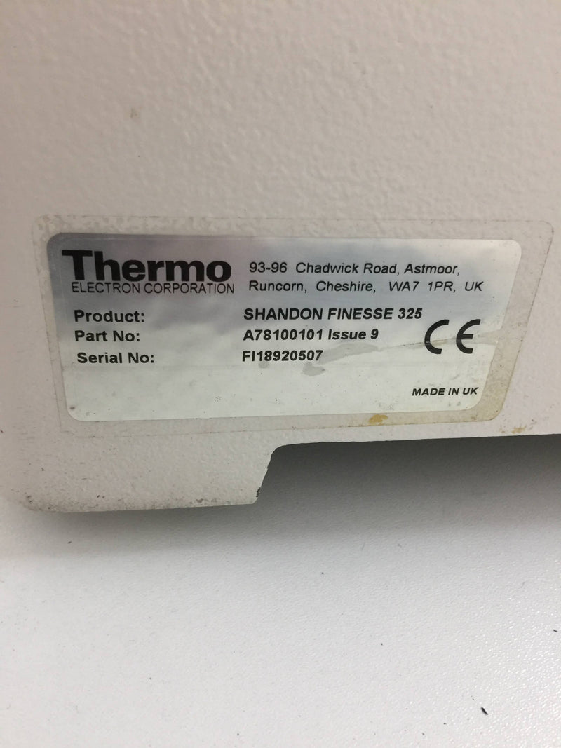 Thermo Electron Shandon Finesse 325 A78100101 Issue 9 Manual Microtome - Richmond Scientific