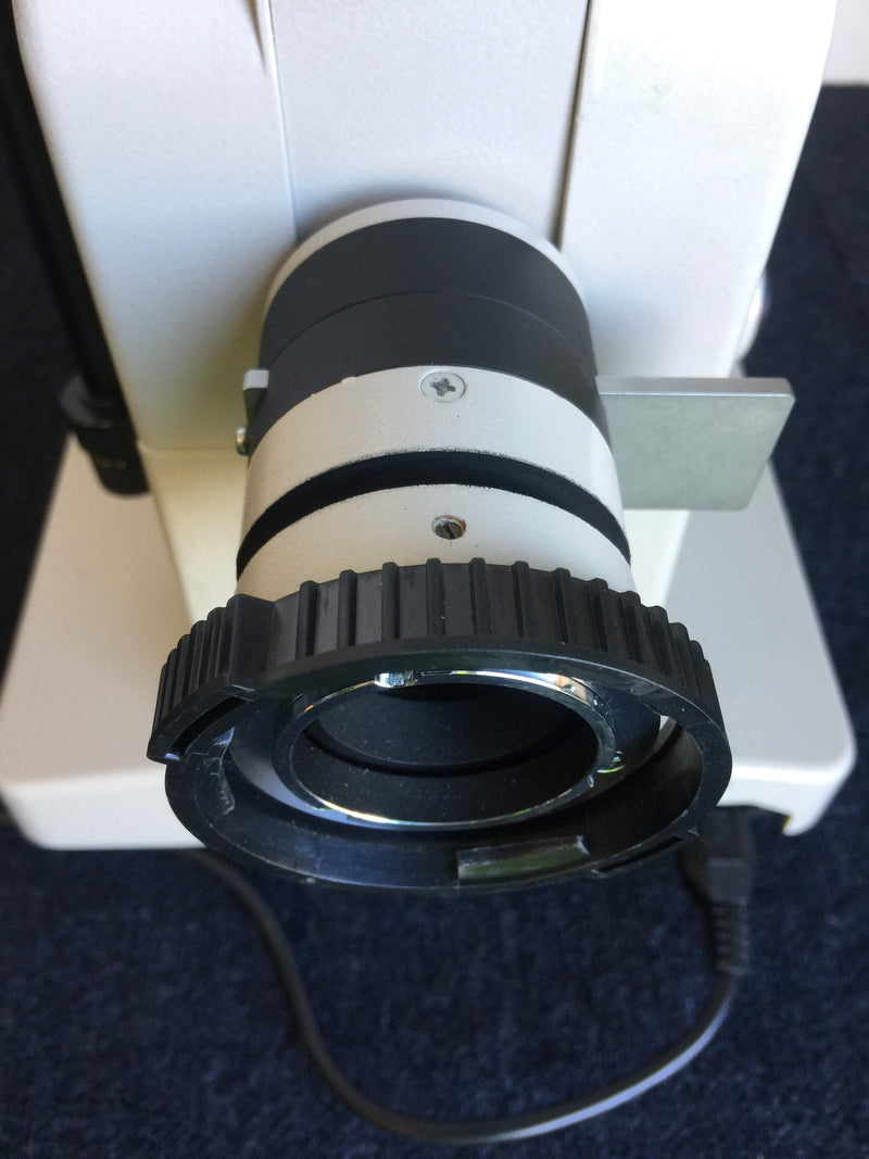 Nikon Diaphot Microscope with Microtec Fibre Optics MFO-90