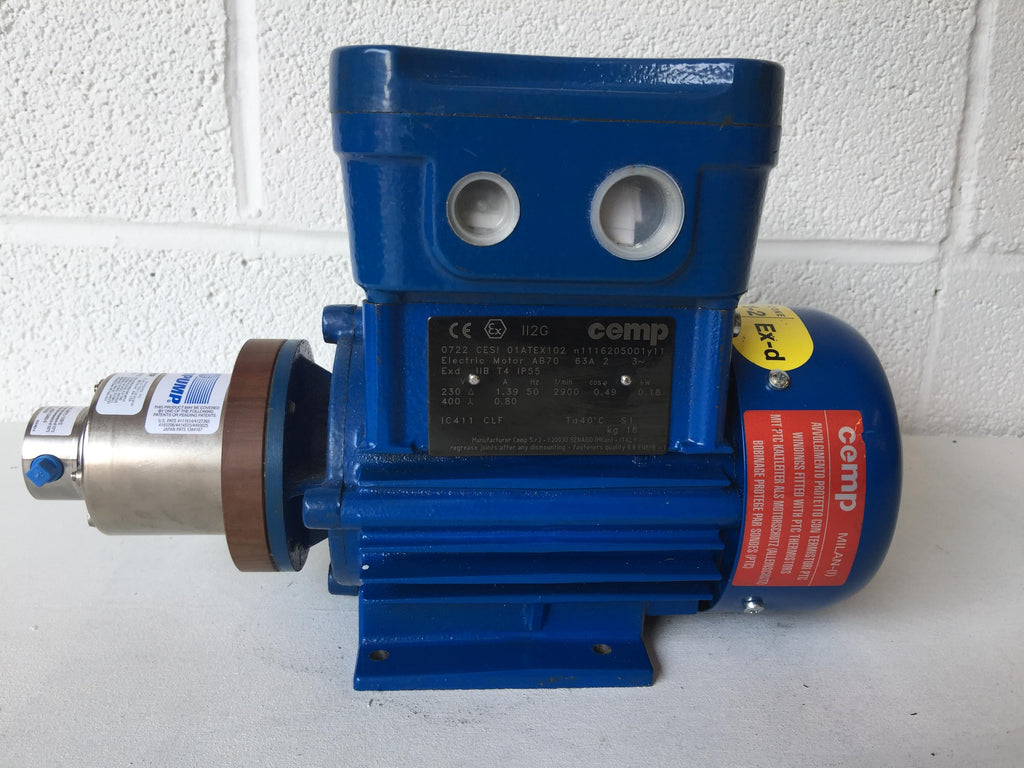 Cemp AC Motor with Micropump A‑Mount Cavity‑Style Pump Head (1974873)