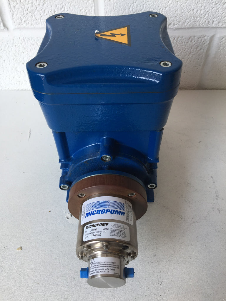 Cemp Motor with Micropump A‑Mount Cavity‑Style Pump Head (1974872)