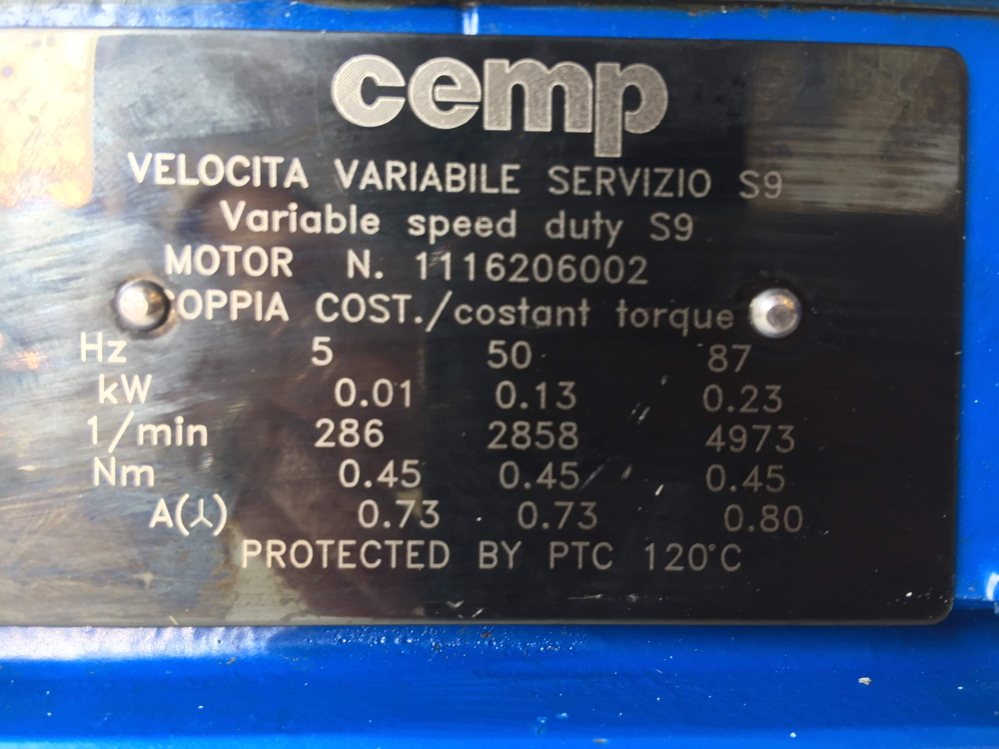 Cemp Motor with Micropump A‑Mount Cavity‑Style Pump Head (1974877)